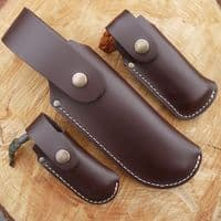 TBS Leather Large Folding Knife Pouch